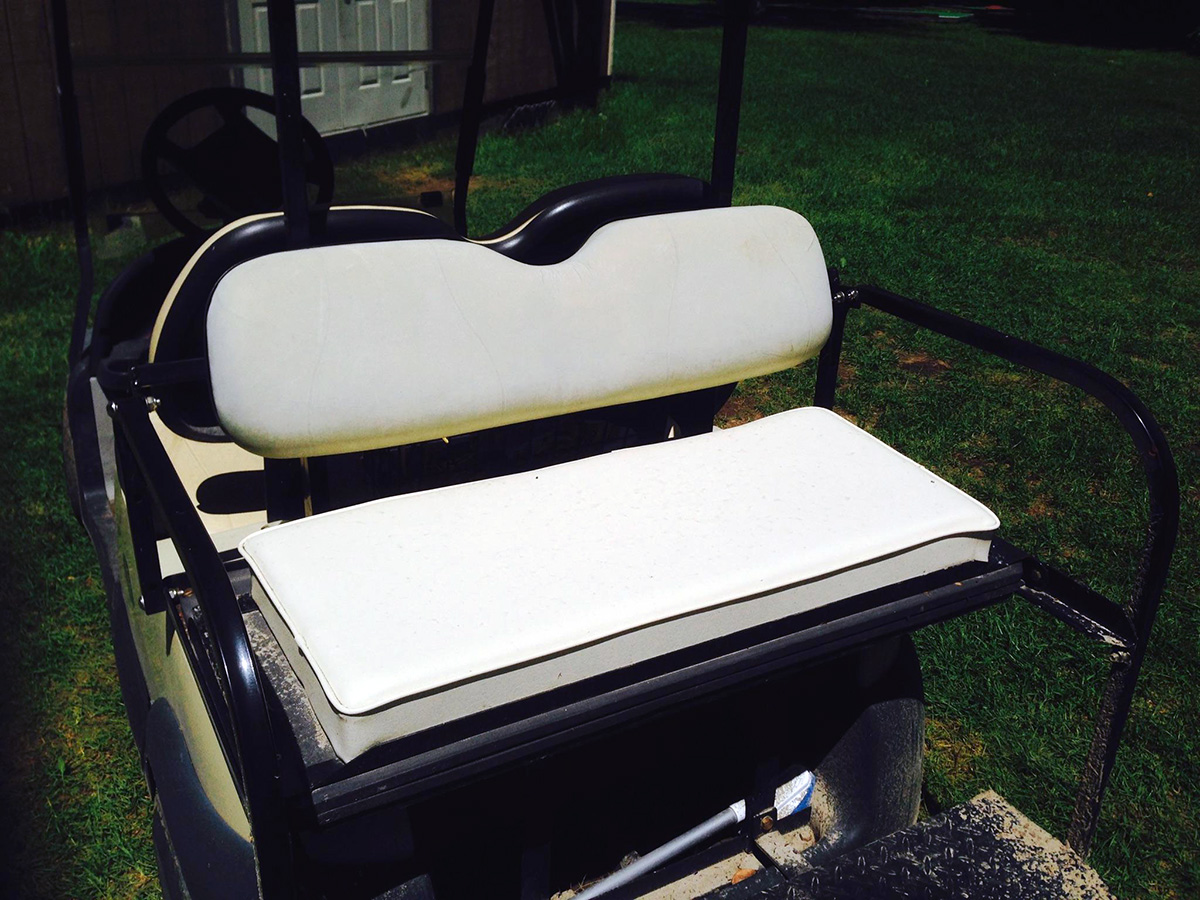 Golf Cart Custom Cushion